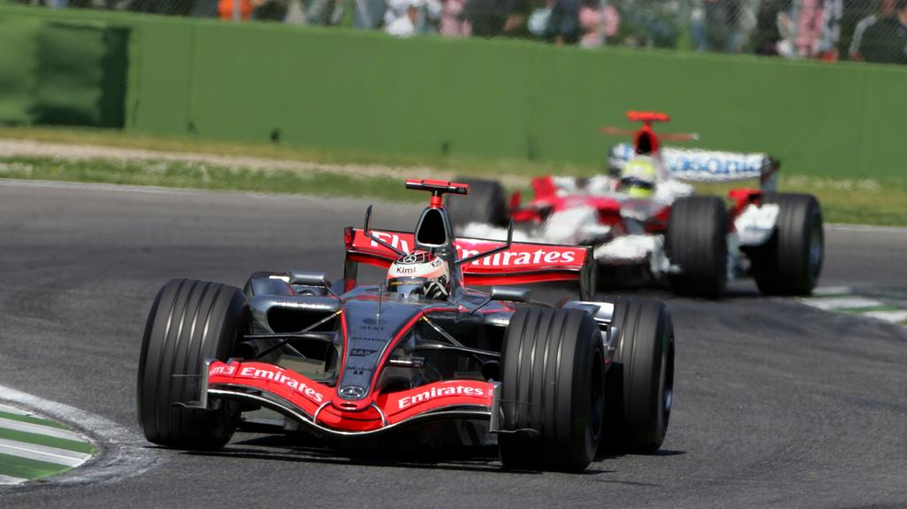 Kimi Räikkönen ist der einzige Pilot im 2020er Feld, der schon in Imola ein Rennen fuhr - 2006 im McLaren-Mercedes