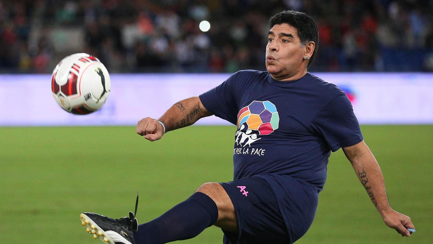 Diego Maradona wird 60