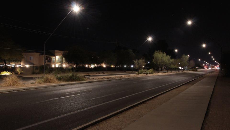 Tucson Lichtverschmutzung Studie