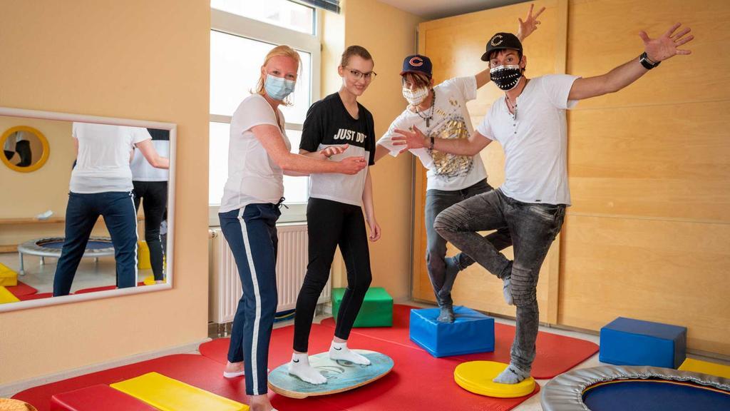 Die Ehrlich Brothers besuchen alle Reha-Einrichtungen der SyltKlinik