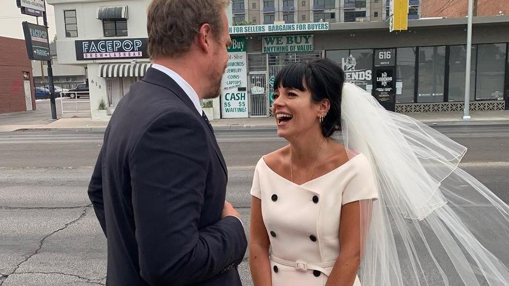 David Harbour und Lily Allen haben sich im September das Jawort gegeben - doch eine romantische After-Wedding-Zeit gab es für das Paar nicht.