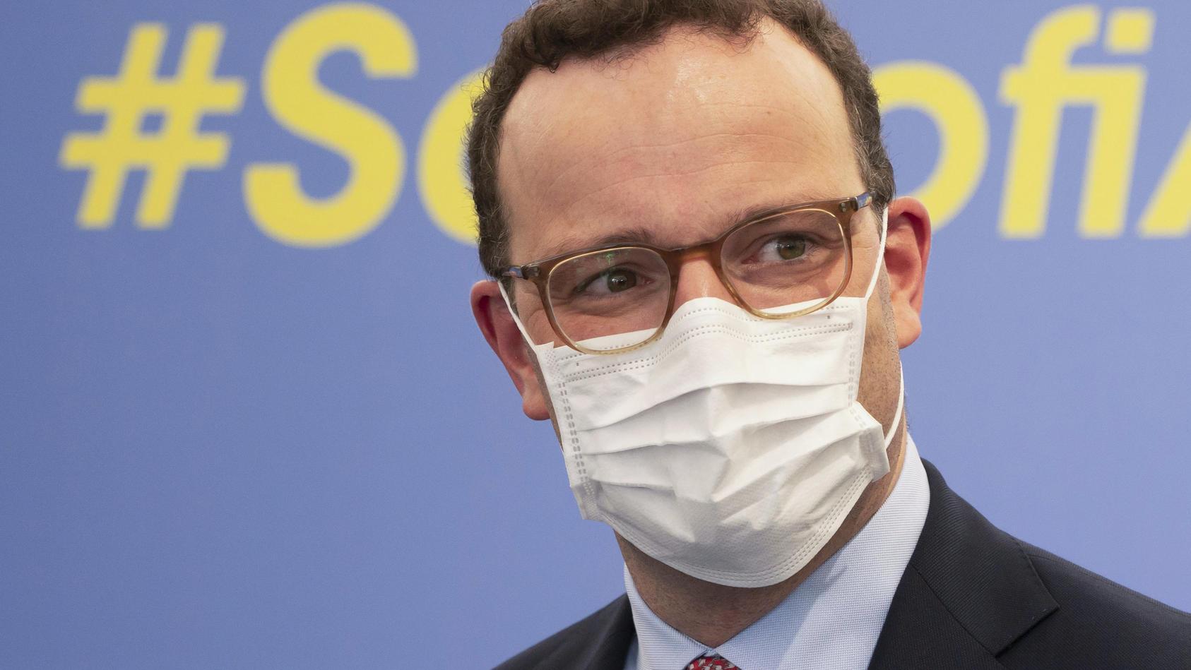 Gesundheitsminister Spahn positiv auf Corona getestet
