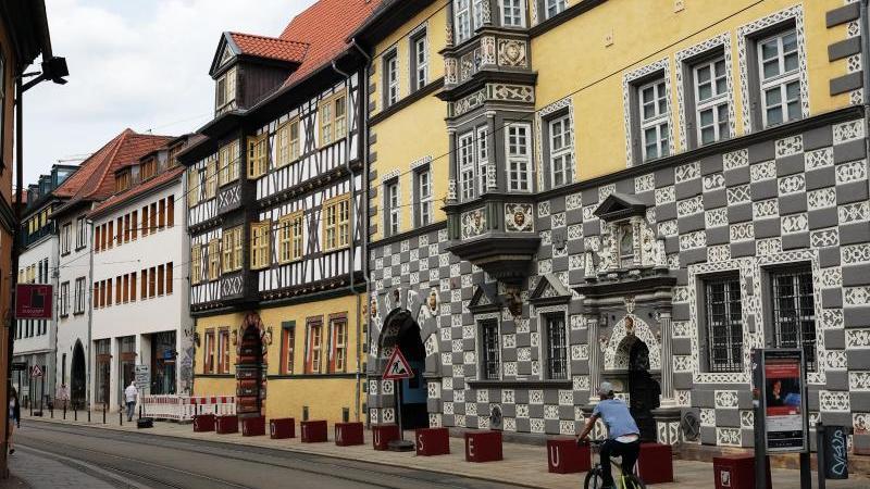 Blick auf das Erfurter Stadtmuseum. Foto: Jens Kalaene/dpa-Zentralbild/dpa/Archivbild