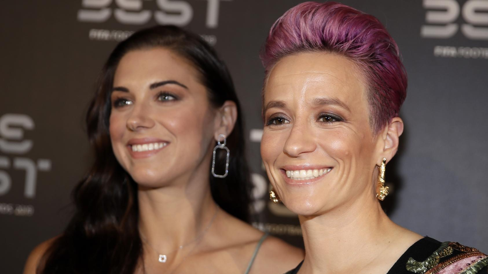 Sue Bird (li.) und Megan Rapinoe