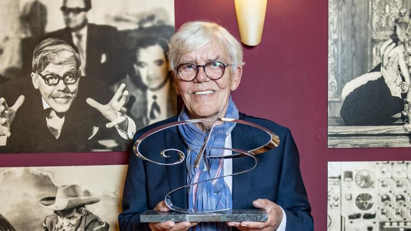 Peter Striebeck ist mit dem Götz George Preis 2020 ausgezeichnet worden. Foto: Axel Heimken/dpa