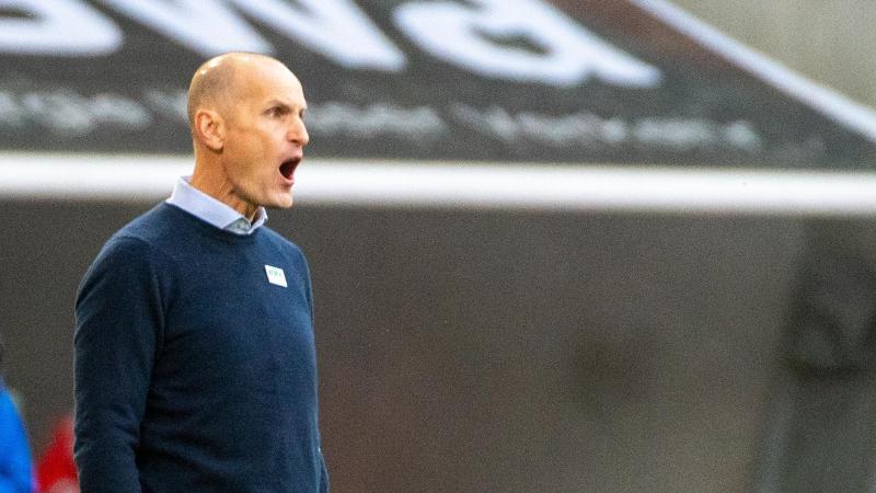 Augsburgs Trainer Heiko Herrlich. Foto: Stefan Puchner/dpa/Archivbild