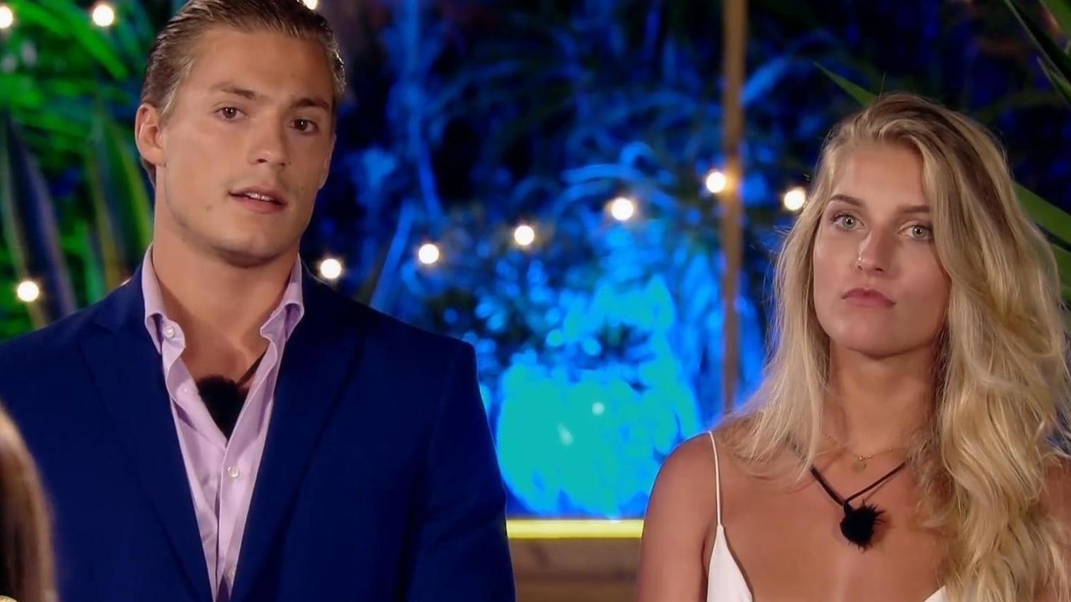 """Bei """"Love Island"""" setzte Henrik einiges für Sandra aufs Spiel. Jetzt ist alles aus."""
