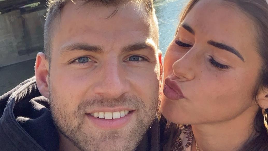Julian und Ehefrau Sarah Engels sollen sich auf einer Dating-App kennengelernt haben.