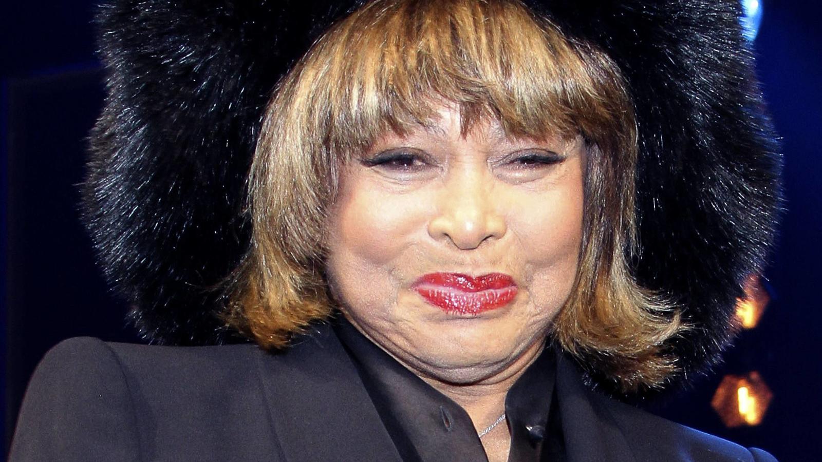 Tina Turner bei einer Opernpremiere in Hamburg.
