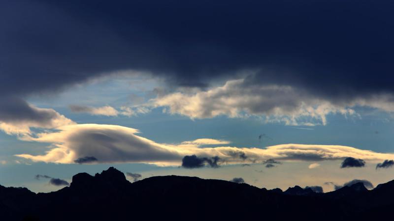 Föhnsturm Alpen