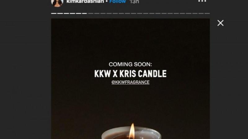 KKW x Kris-Duftkerze