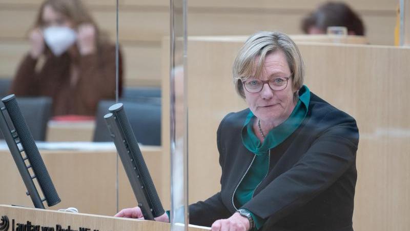 Edith Sitzmann (Bündnis 90/Die Grünen), Finanzministerin von Baden-Württemberg. Foto: Sebastian Gollnow/dpa