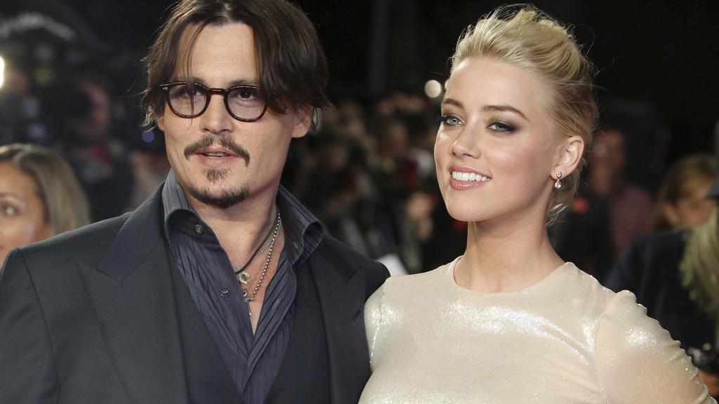 Ein Bild aus glücklichen Zeiten: Johnny Depp und Amber Heard