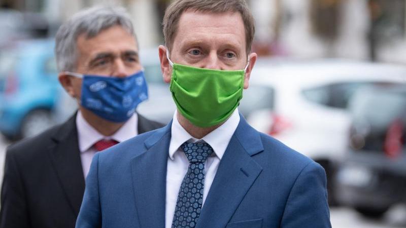 Corona-Fall: Ministerpräsident Kretschmer in Quarantäne