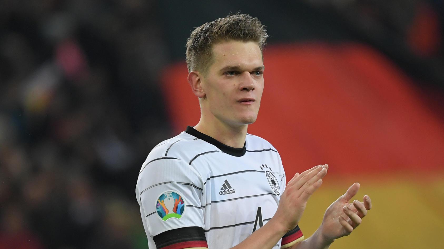 Matthias Ginter im Trikot der Fußball-Nationalmannschaft