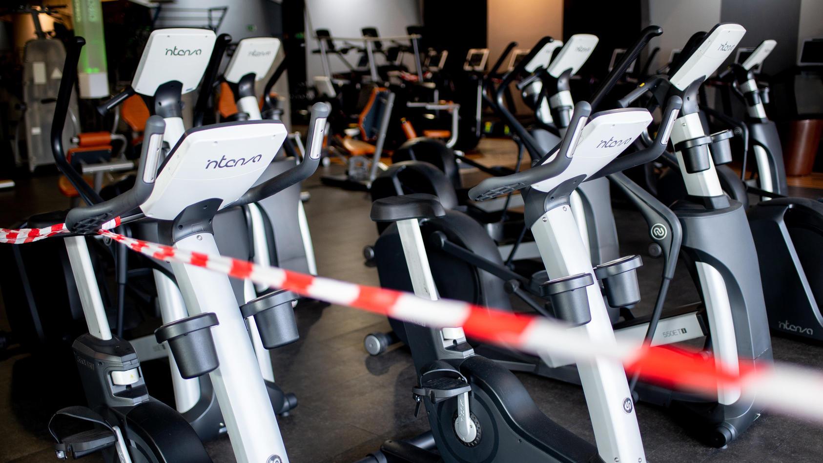 Aufgrund der Pandemie mussten die Fitnessstudios in Deutschland zweimal in den Lockdown.