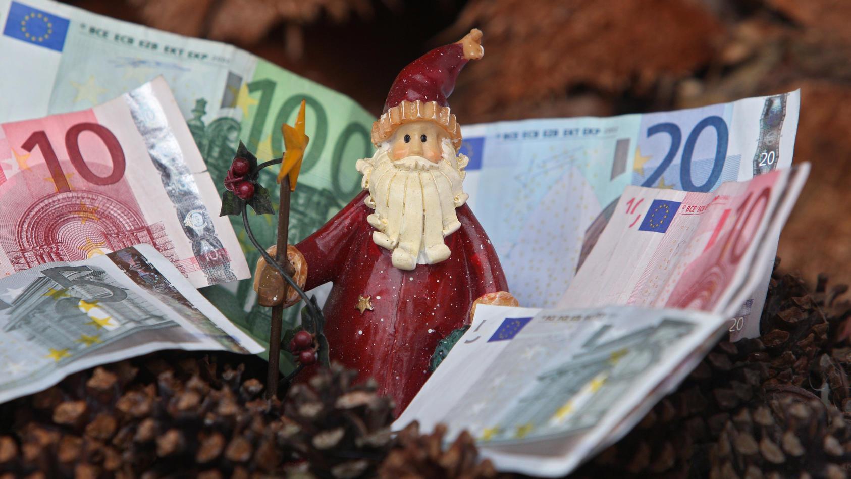 Ostdeutsche bekommen laut statistischem Bundesamt weniger Weihnachtsgeld.