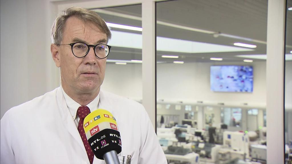 Dr. Zinn im RTL-Interview