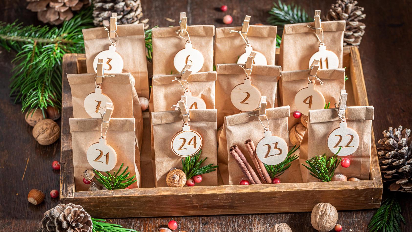Adventskalender Selber Machen Kreative Geschenk Ideen Fur Die 24 Turchen
