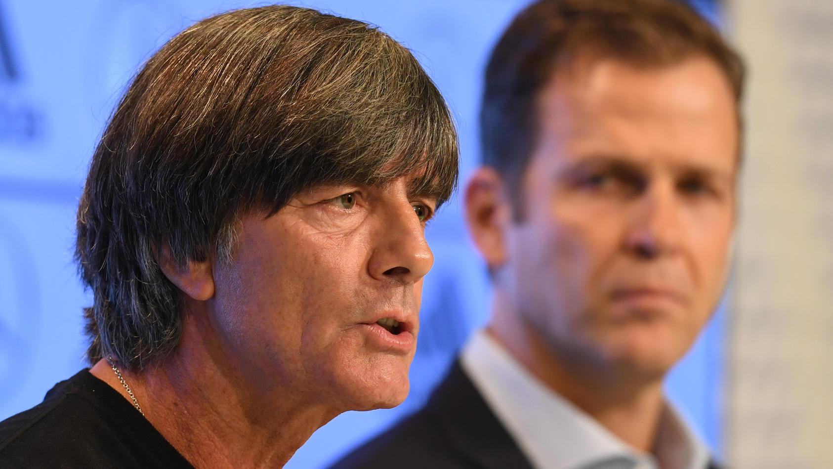 Saustall DFB: Pressekonferenz mit Oliver Bierhoff im Livestream ab 15.30 Uhr