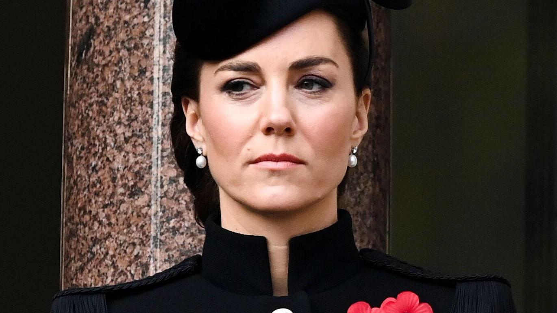 Herzogin Kate lässt in einem Gespräch mit Krankenschwester Johanna Churchchill Emotionen zu.