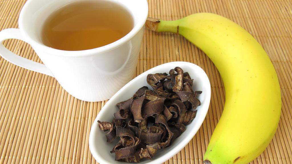 Bananenschalentee als natürlich Einschlafhilfe