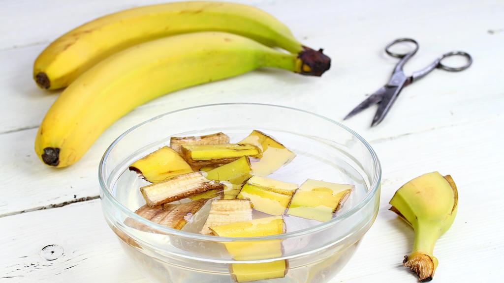 Bananenschale lindert Insektenstiche