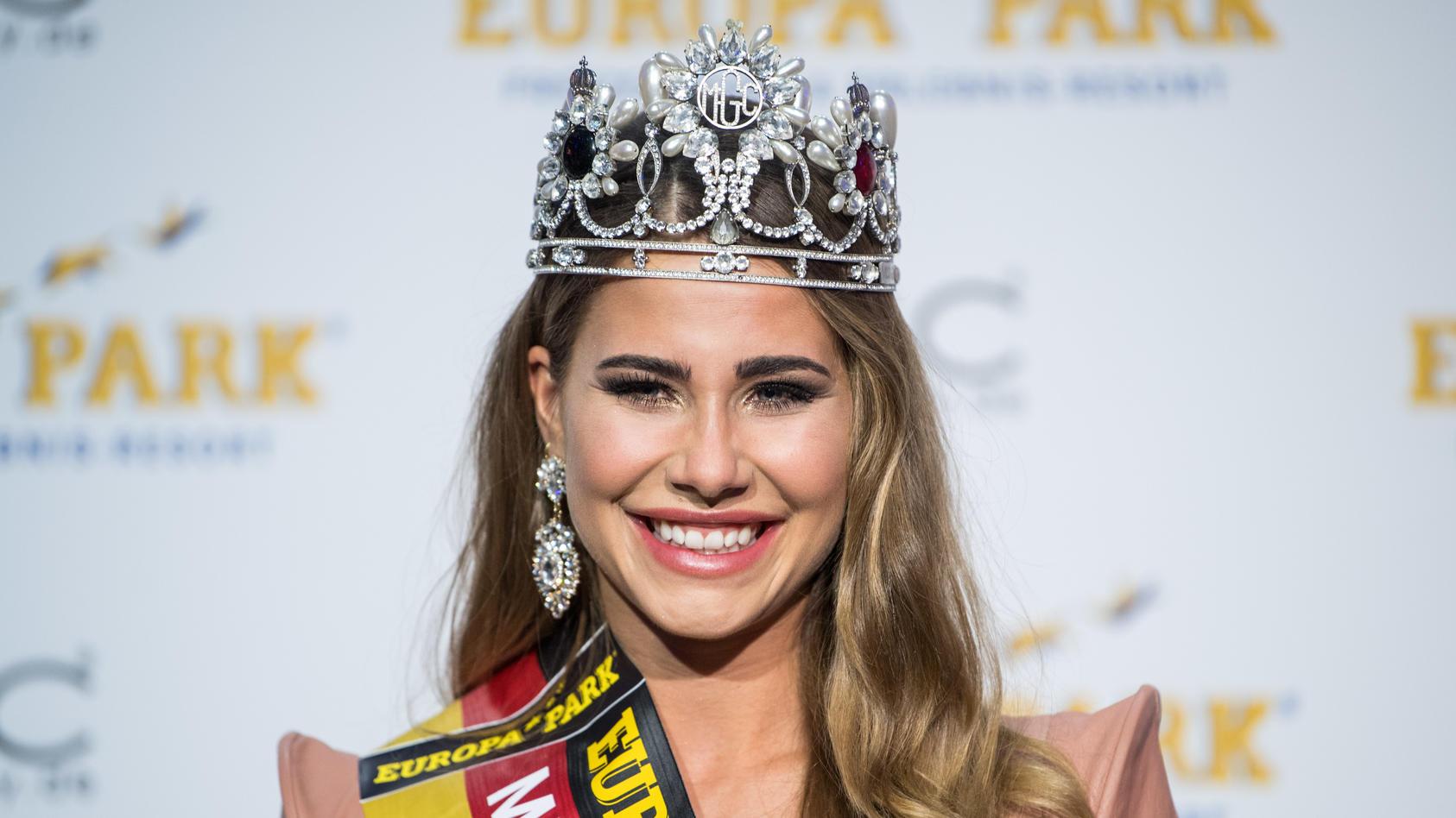"""Anahita Rehbein wurde 2018 zur """"Miss Germany"""" gekrönt ."""