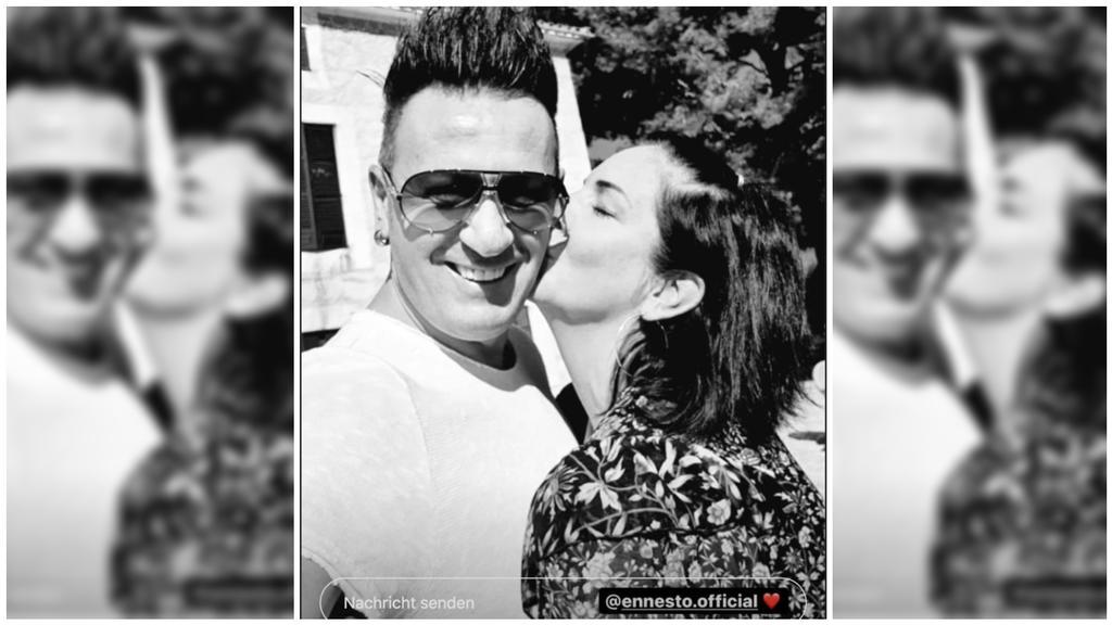 Danni Büchner und Ennesto Monté zeigen sich verliebt auf Instagram