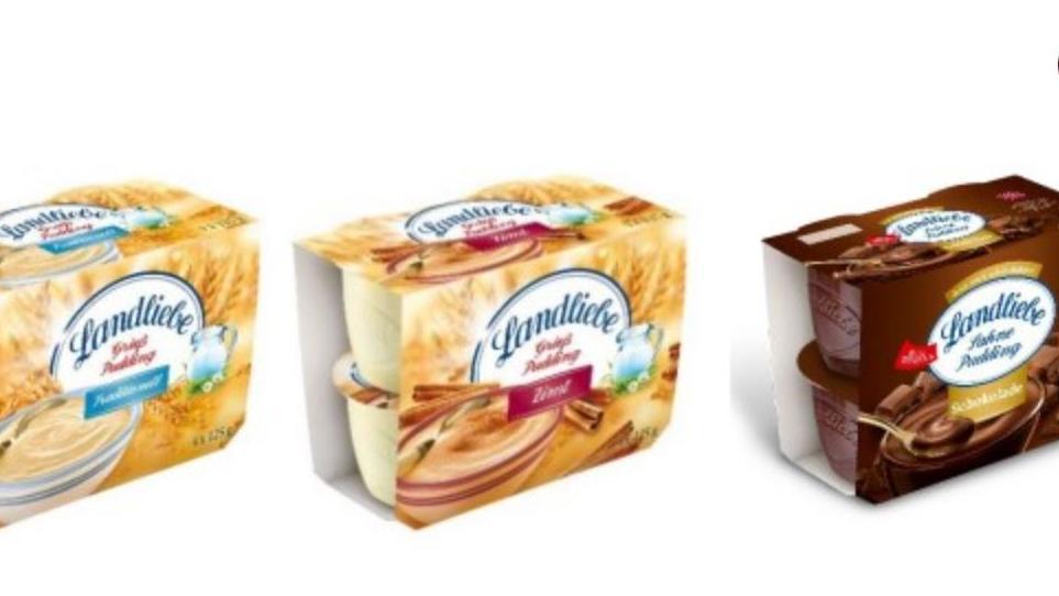 Landliebe hat drei verschiedene Pudding-Sorten zurückgerufen.