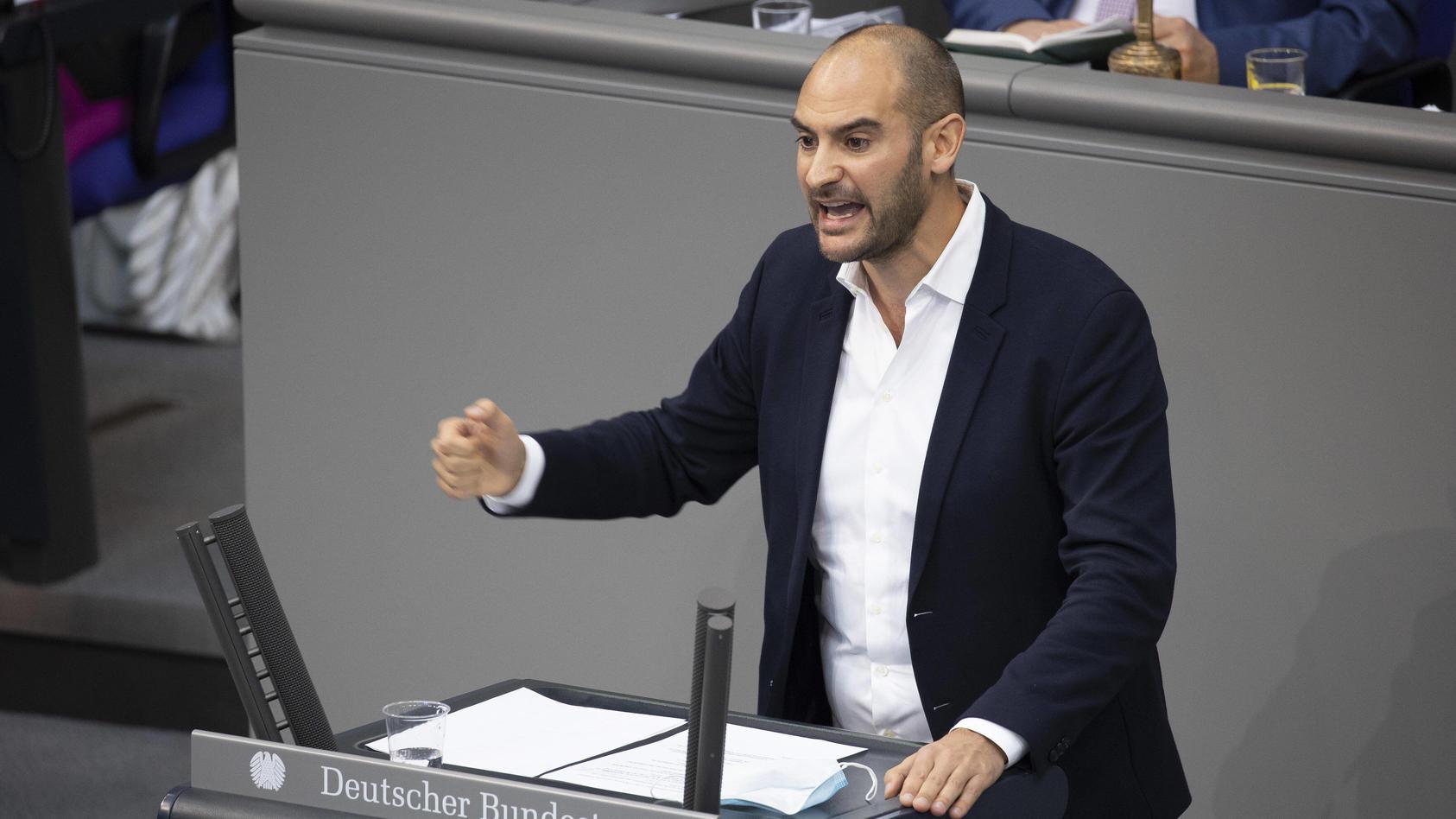 Danyal Bayaz (Grüne) ist Obmann im Wirecard-Untersuchungsausschuss