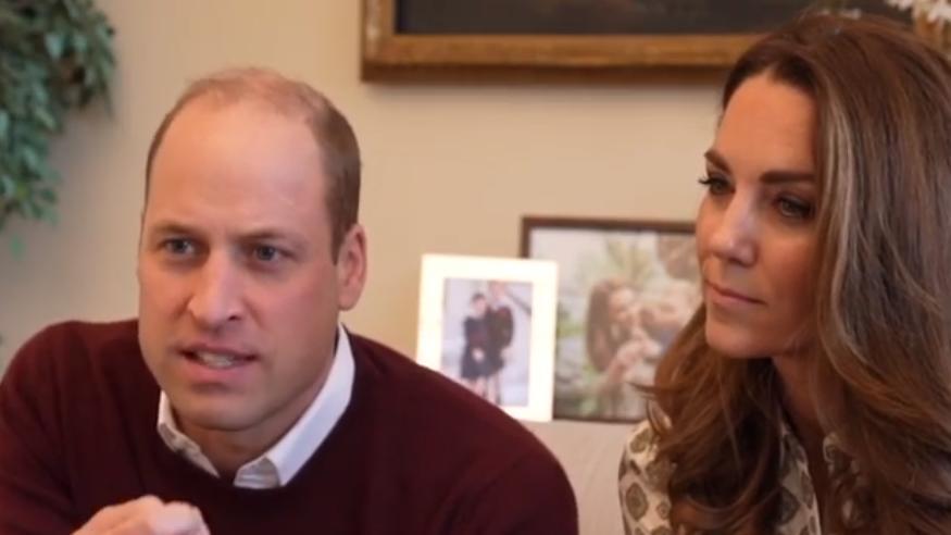 Prinz William und Herzogin Kate im Live- Interview