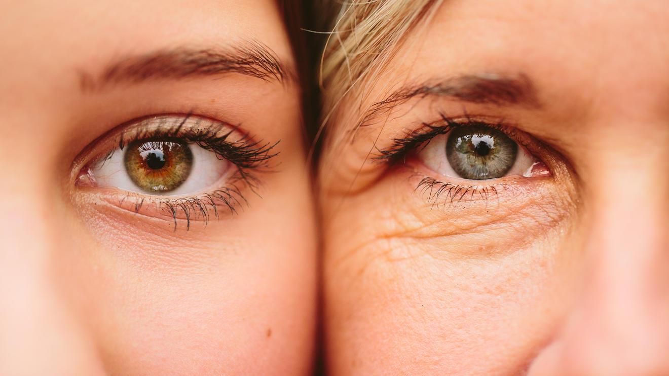 Mutter und Tochter - sehen wir bald alle gleich alt aus?