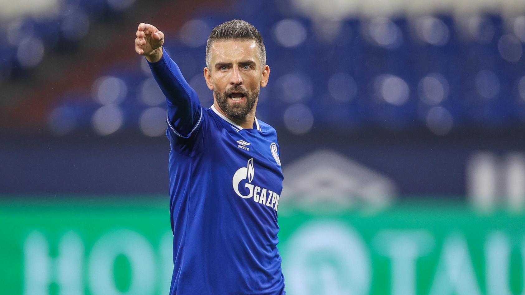 Vedad Ibisevic im Trikot des FC Schalke 04.