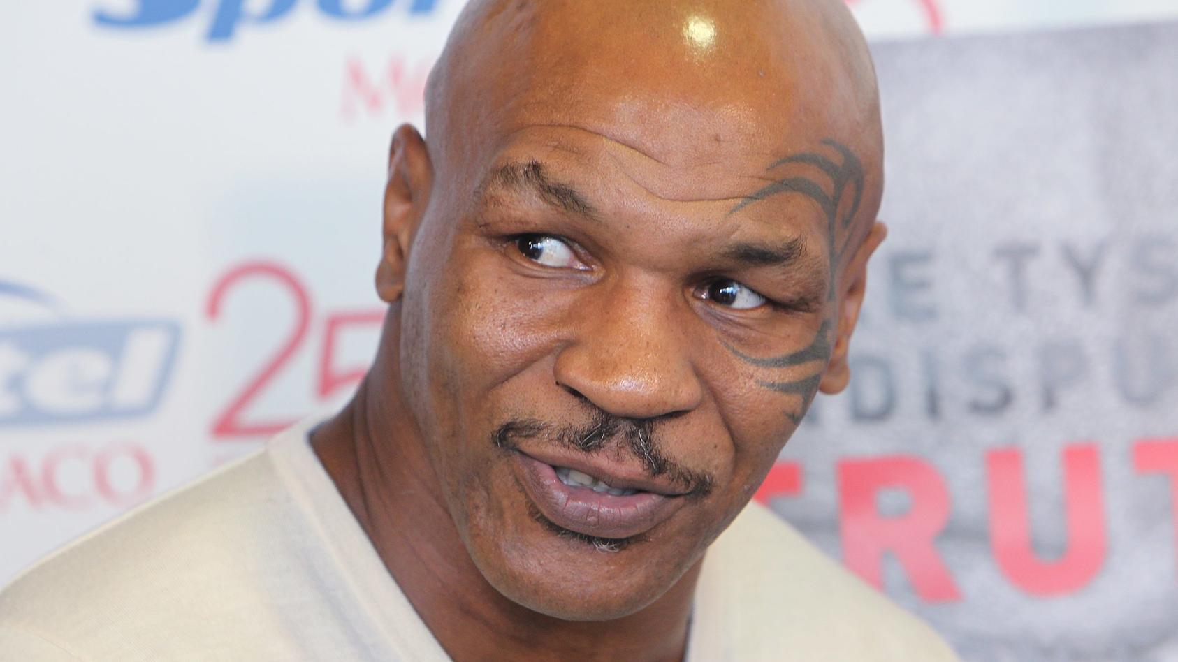 Ex- und Wieder-Boxer Mike Tyson