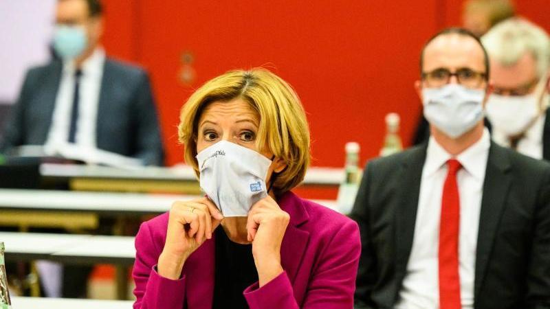 Malu Dreyer, die Ministerpräsidentin von Rheinland-Pfalz. Foto: Andreas Arnold/dpa/Archivbild