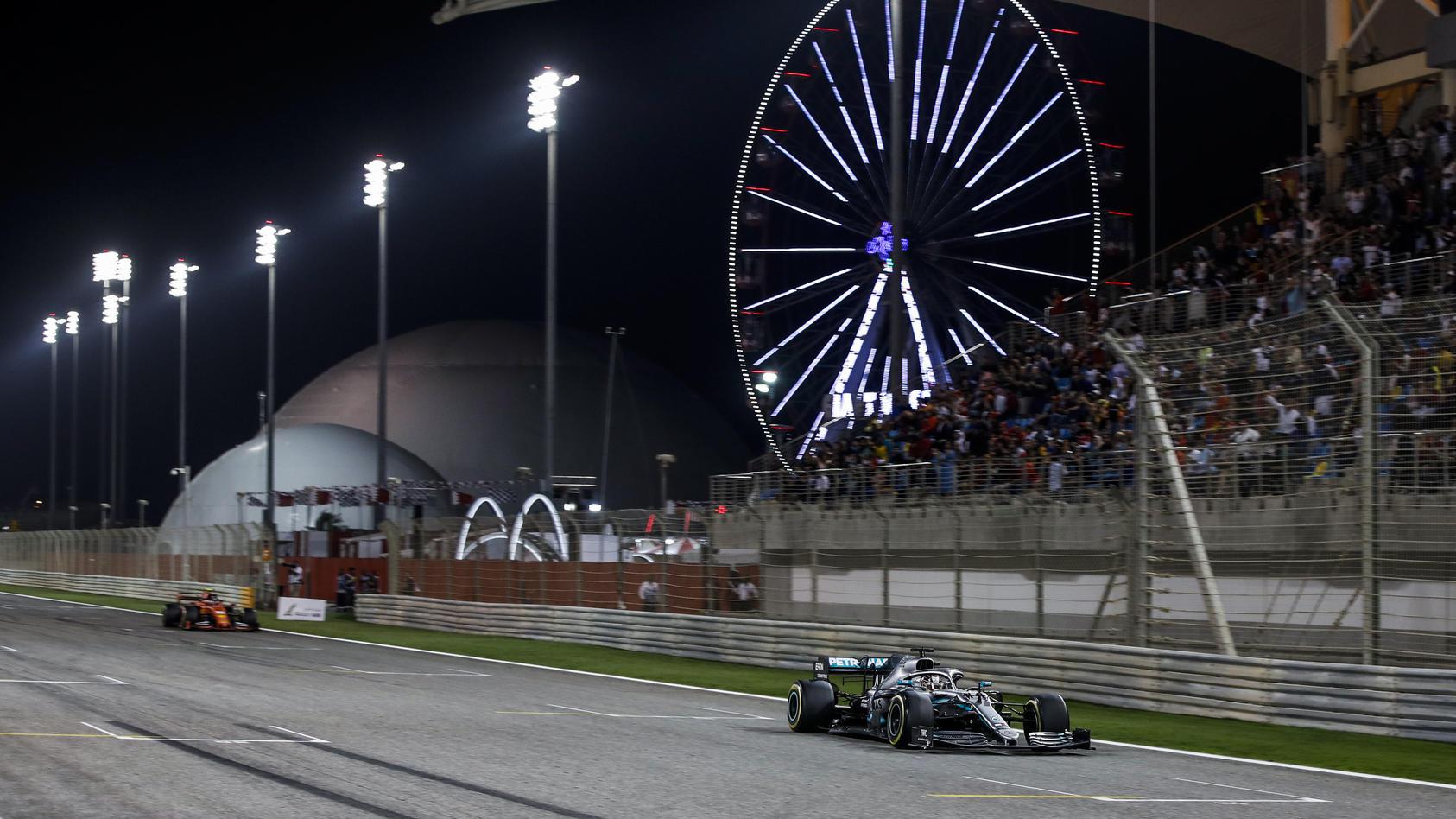 Lewis Hamilton 2019 in Bahrain
