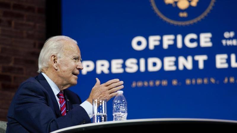 Der Gewählte US-Präsident Joe Biden richtet eine Botschaft an die Verbündeten. Foto: Carolyn Kaster/AP/dpa