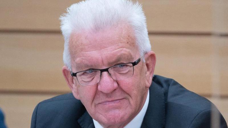 Winfried Kretschmann (Die Grünen), Ministerpräsident von Baden-Württemberg. Foto: Sebastian Gollnow/dpa/Archiv