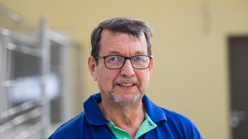 Andreas Lindig, erster Vorsitzender Landesverband Rheinland-Pfalz Deutscher Tierschutzbund. Foto: Andreas Arnold/dpa/Archivbild