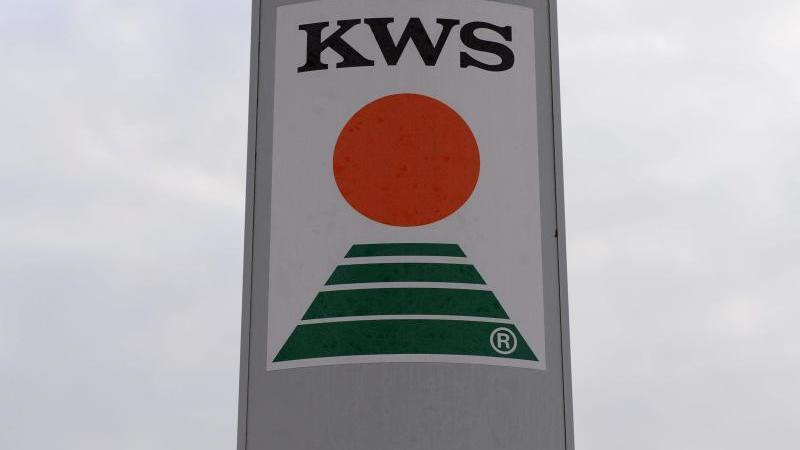 Das Logo der KWS Saat. Foto: picture alliance / dpa/Archivbild
