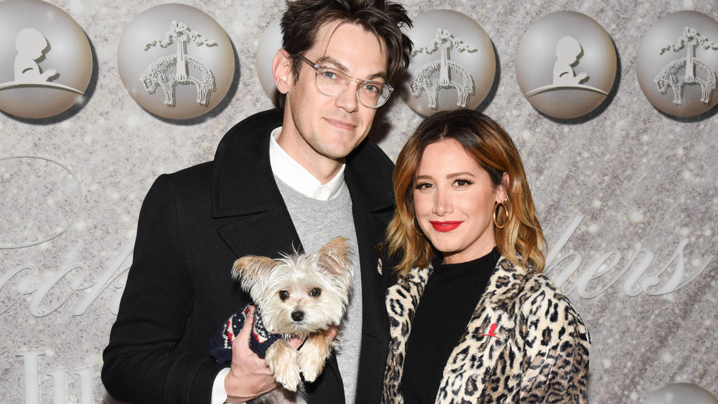 Auf ihren fürsorglichen Ehemann Christopher French kann Ashley Tisdale immer bauen.