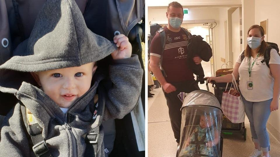 Der 3-jährige Thomas verbrachte die meiste Zeit seines Lebens im Krankenhaus.