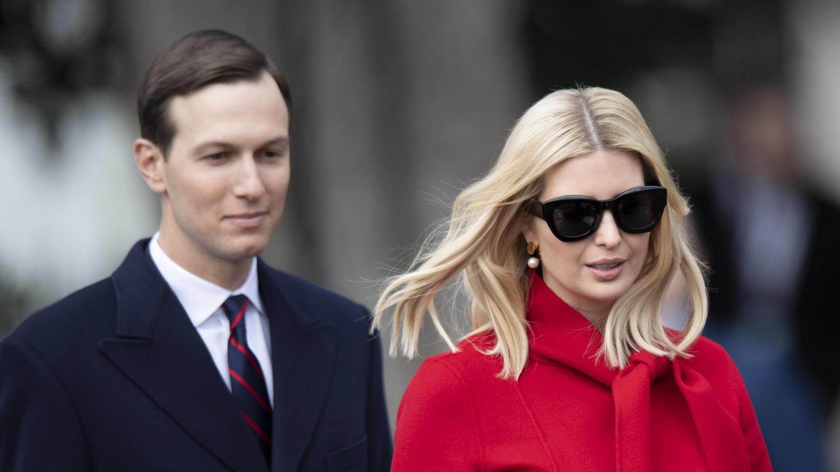 Jared Kushners und Ivanka Trumps Kinder haben einen Ausflug durch DC gemacht.