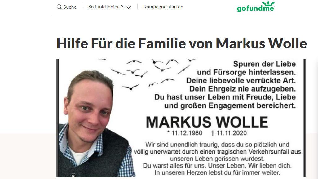 Freund des verstorbenen Frankfurter CDU-Politikers Markus Wolle ruft zu Spenden für dessen Familie auf