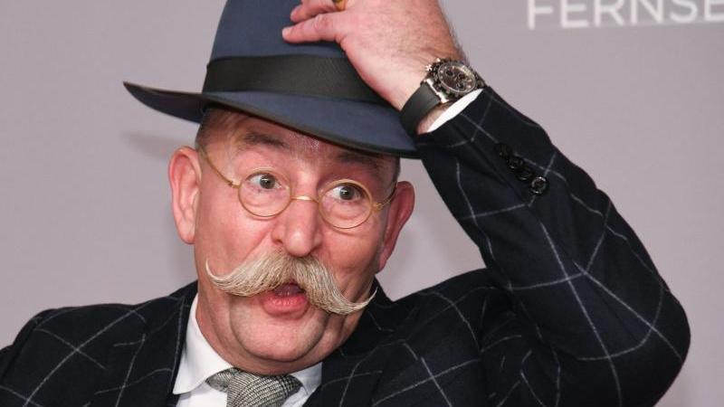 Mann mit Hut:Horst Lichter. Foto: Henning Kaiser/dpa