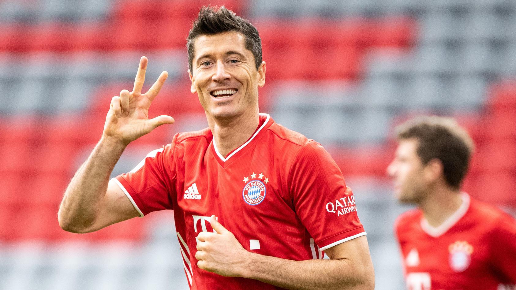 Robert Lewandowski sammelt beim FC Bayern Titel um Titel.