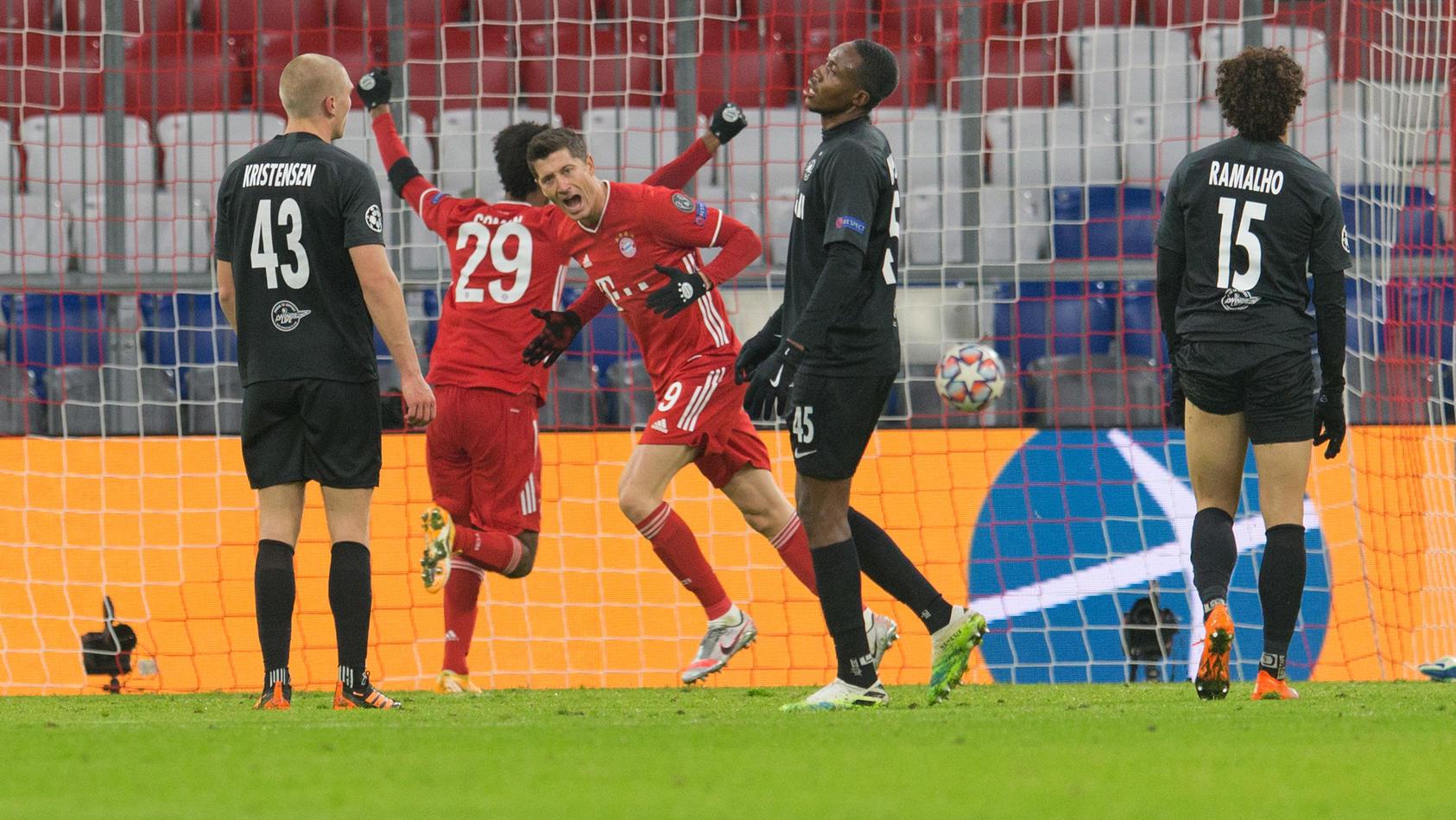 Robert Lewandowski hat jetzt in der Champions League so oft getroffen wie Raúl