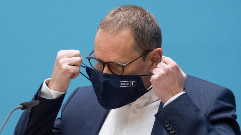 Michael Müller (SPD), Berlins Regierender Bürgermeister. Foto: Christophe Gateau/dpa