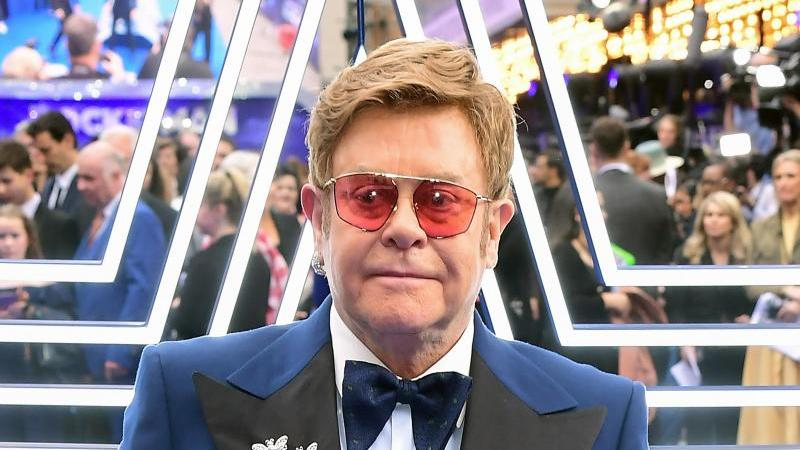 Sir Elton John, Musiker. Foto: Ian West/PA Wire/dpa/Archiv